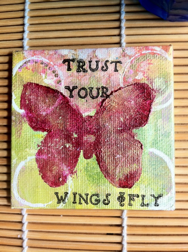 Trust your wings
