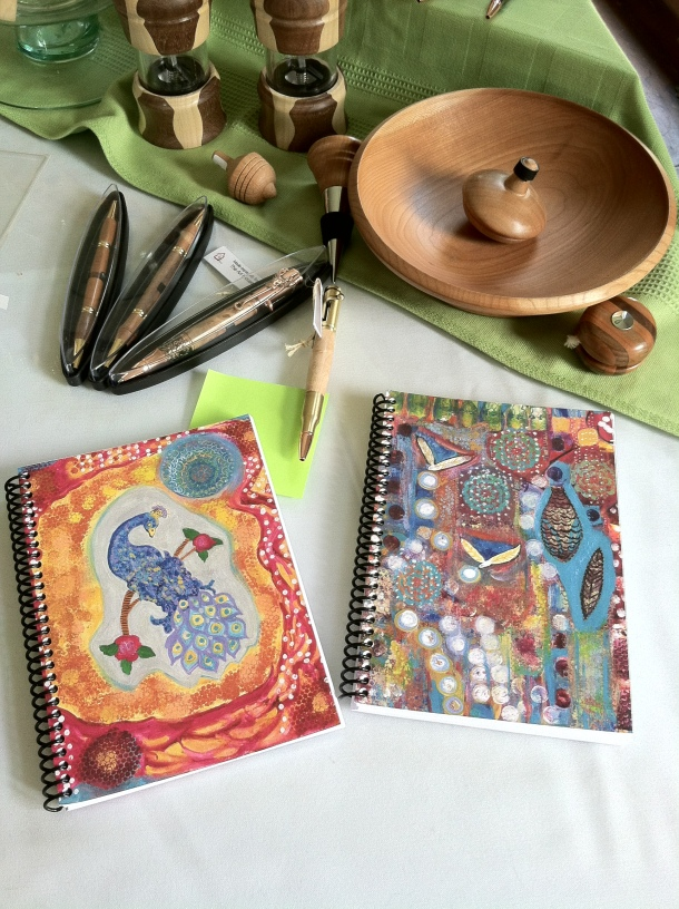 J. Lashua Art Journals at Art House