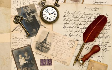 vintage-writing