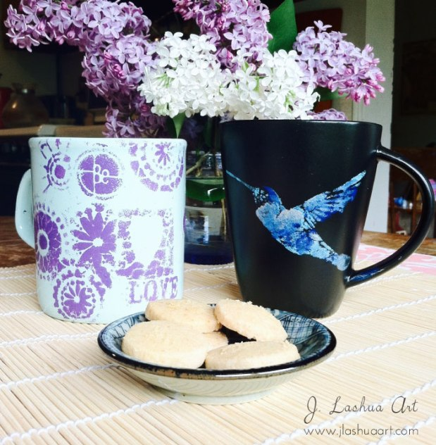 mugs-bird-&-be-love. J.Lashua art