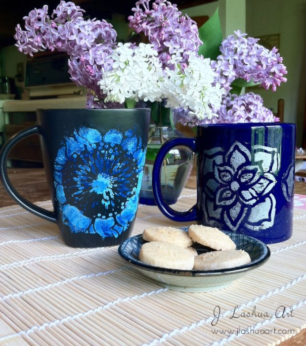 mugs-flowers-1 J.Lashua art