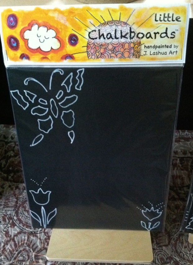Hand painted chalk boards J.Lashua art