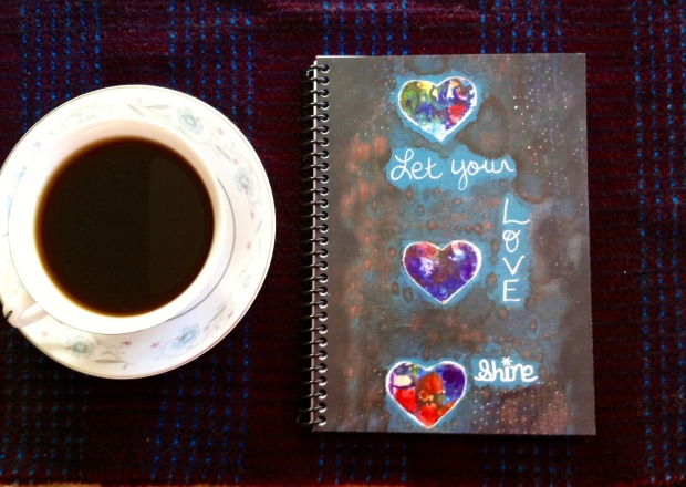 Journal Let your love shine