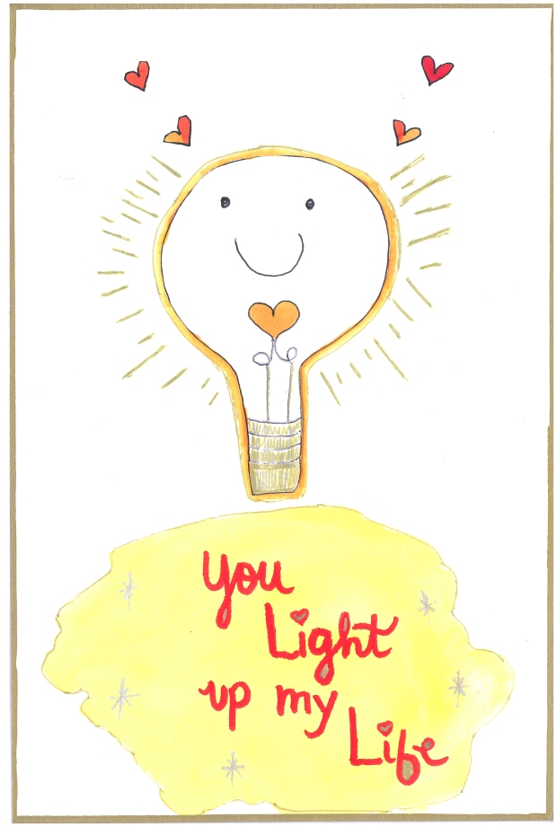 You Light Up My Life scan