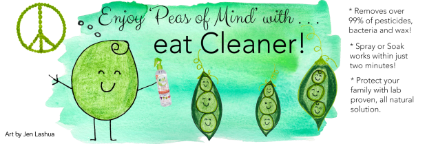 Peas of Mind Banner